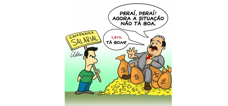 Farmacêuticos mineiros permanecem sem reajuste salarial, patrões insistem no 1,81%